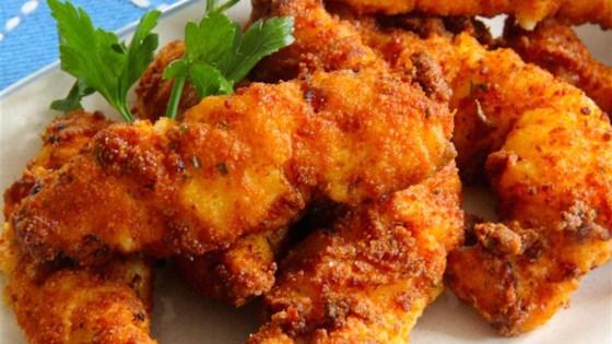 Breaded Chicken Fingers Recipe