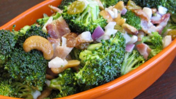 Broccoli-and-Bacon Salad