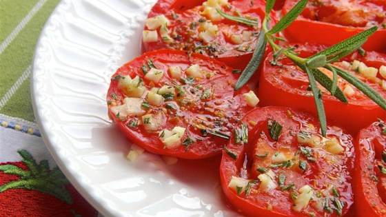 Photo of Baked Tomato Slices by Laura
