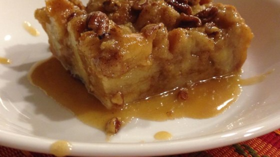 Photo of Bread Pudding with Praline Sauce by Leah Little
