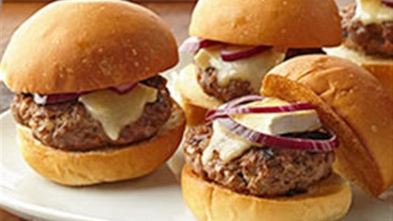 Photo of Beef and Brie Sliders by Voskos