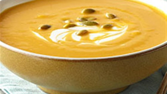 Photo of Hearty Pumpkin-White Bean Soup by Voskos