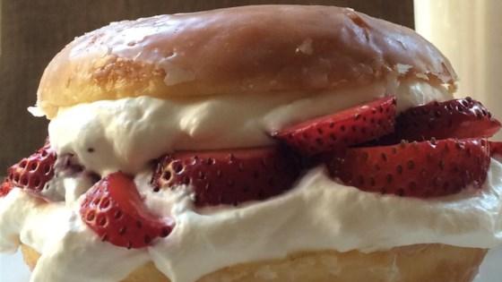 Photo of Glazed Doughnut Strawberry Shortcake by voraciousgirl