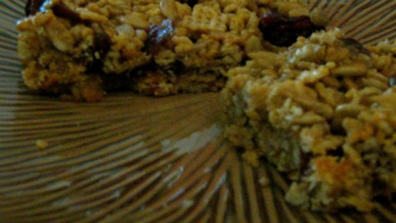Photo of SunButter® and Honey Fruit Trail Bars by Stephanie Spence