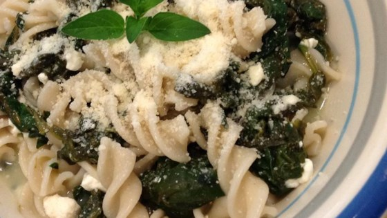 Photo of Spinach Cheese Pasta by Grace W.