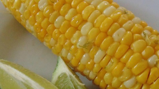 Margarita Grilled Corn on the Cob