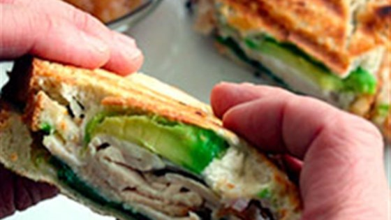 Photo of Turkey and Avocado Panini by Avocados from Mexico