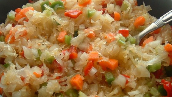 Photo of Sauerkraut Salad by Joan Long Dixon