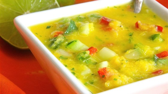 Photo of Mango Gazpacho by USA WEEKEND columnist Pam Anderson