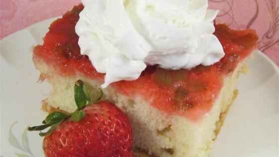 Photo of Rhubarb Upside Down Cake II by TOMBO