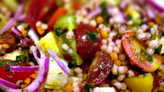 Photo of Heirloom Tomato Salad with Pearl Couscous by arrdub