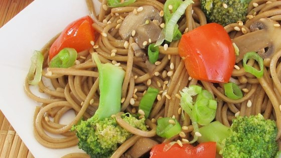 Photo of Soba with Toasted Sesame Seed Sauce by jessica