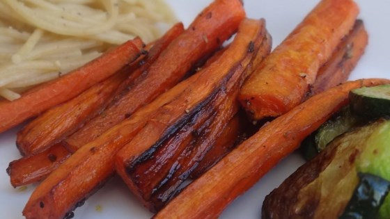 Photo of Balsamic Roasted Carrots by ekc364