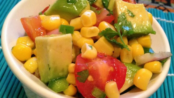 Photo of Corn Salad with Lime Vinaigrette by Jen