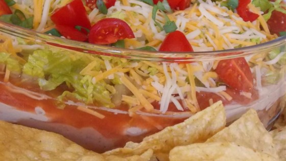 Photo of Taco Salad Dip by Tanaquil