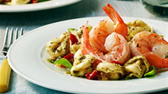 Photo of Garlic Shrimp with Three Cheese Tortellini by Buitoni