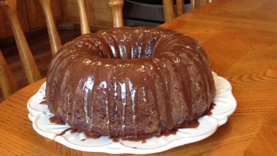 photo of zucchini chocolate rum cake by ani j husiow