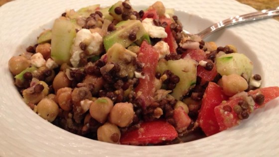 Photo of Chickpea-Lentil Salad by EGgirl