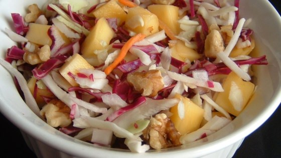Photo of Tangy Mango Slaw by USA WEEKEND columnist Jean Carper