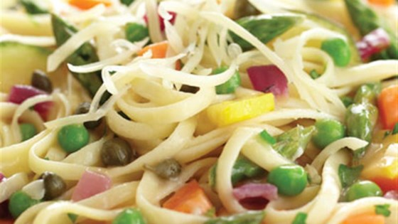 Photo of Pasta Primavera with Lemon-Caper Sauce by Crosse & Blackwell