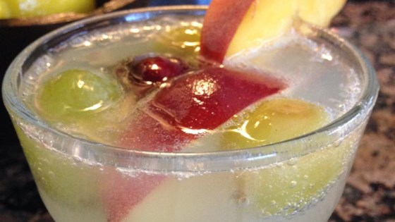 Photo of Refreshing Peach Sangria by NancyW