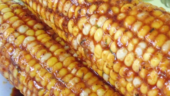 Photo of Soy-Glazed Corn on the Cob by Raquel Teixeira