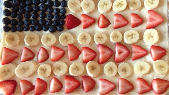 Photo of Patriotic Fruit Pizza  by Marcy R.