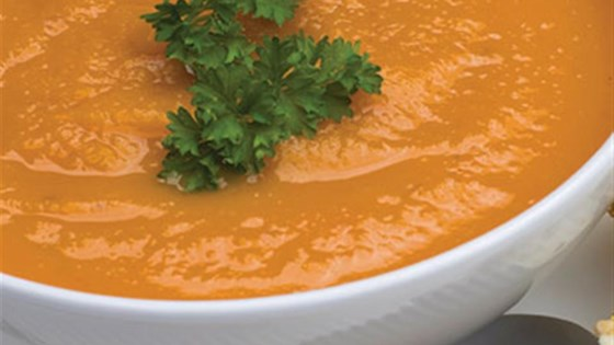 Photo of Curried Coconut-Carrot Soup by Oster® Versa®
