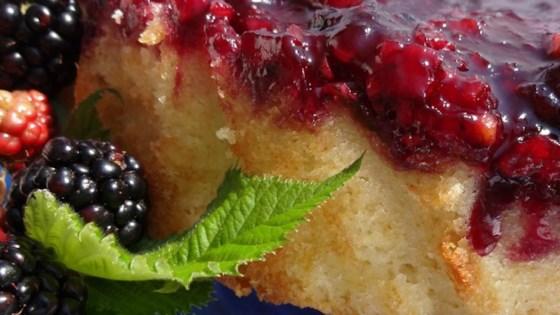 Photo of Blackberry Upside Down Cake by PamelaP
