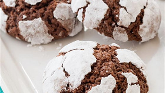Photo of Chocolate Mint Crinkle Cookies by Reynolds Kitchens®