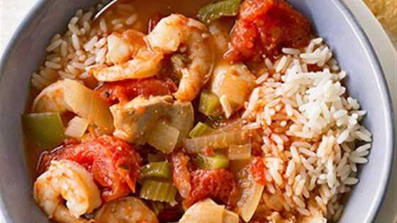 Slow Cooker Chicken Gumbo with Shrimp Recipe