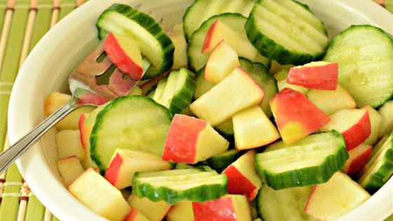 Photo of Cucumber and Apple Salad by EllyBelle