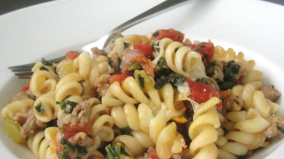 Photo of Tomato, Spinach, and Cheese Pasta by mrcmltn