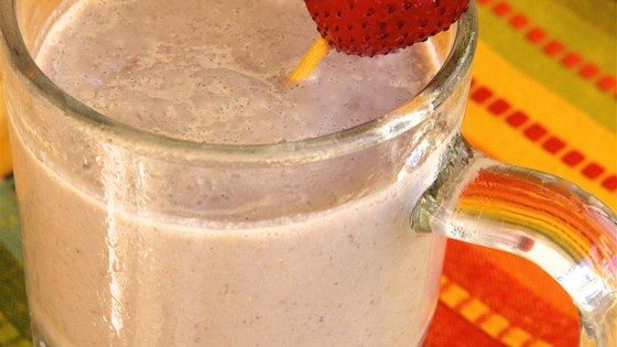 Photo of Chocolate, Strawberry, and Banana Smoothie by Delores