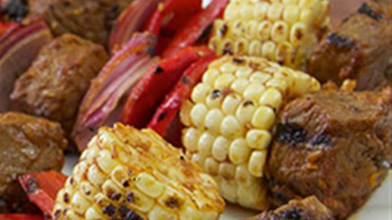 Photo of Southwest Steak and Corn Kabobs by McCormick Spice