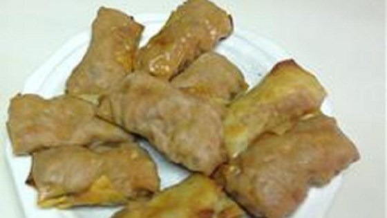 Photo of Baked Sloppy Joe Egg Rolls by chickspicks