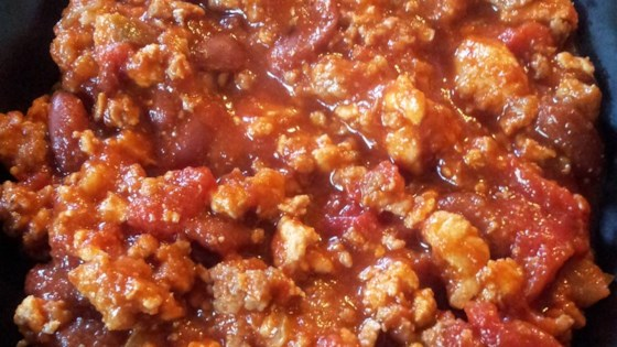 Photo of Slow Cooker Chicken and Sausage Chili by Lee Ann Girard