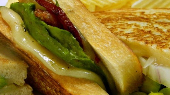 Photo of Bacon, Avocado, and Pepperjack Grilled Cheese Sandwich by Chris McDaniel