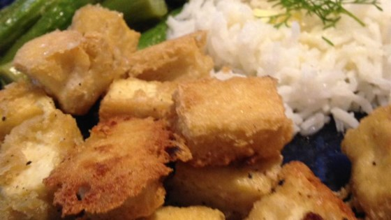Photo of Tahini-Battered Tofu by Queenie