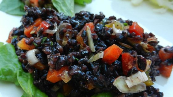 tks forbidden black rice salad review by tonia