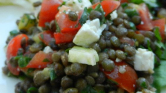 Photo of French Lentil Salad with Goat Cheese by DEBMCE4