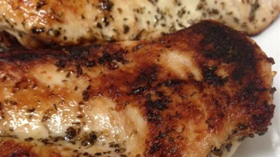 Easy Lemon and Herb Blackened Chicken