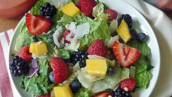 Photo of Mango Berry Fruit Salad by Karin Atkinson Carr