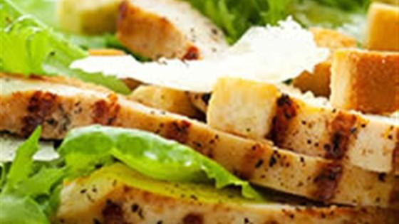 Photo of Veggie Chick'n Caesar Salad by Yves Veggie Cuisine