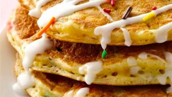 Photo of Cake Batter Pancakes by Bisquick