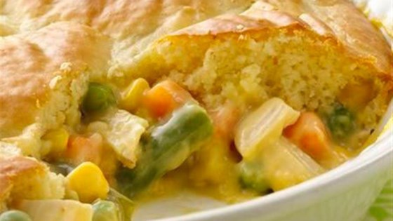 Photo of Impossibly Easy Chicken Pot Pie by Bisquick