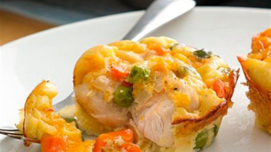 Photo of Impossibly Easy Mini Chicken Pot Pies by Bisquick