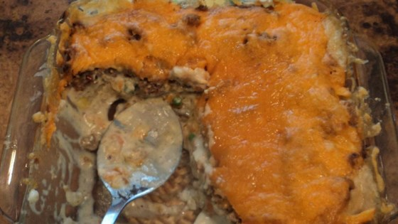 Photo of Leftover Meatloaf Tater Tot Casserole by layla_y