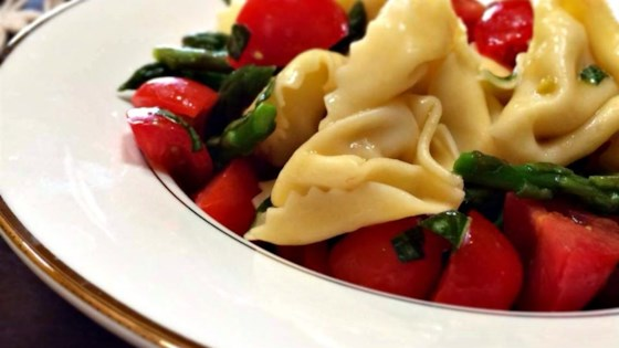 Photo of Simple Yet Yummy Tortellini Salad by Deb
