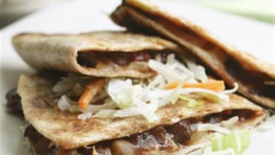 Photo of Barbecue Portobello Quesadillas by Breana Lai, M.P.H., R.D.